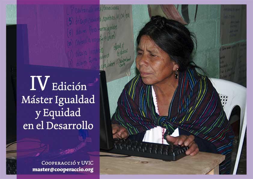 Máster en Igualdad y Equidad en el Desarrollo