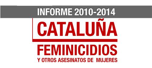 Feminicidios en Cataluña 2011-2014