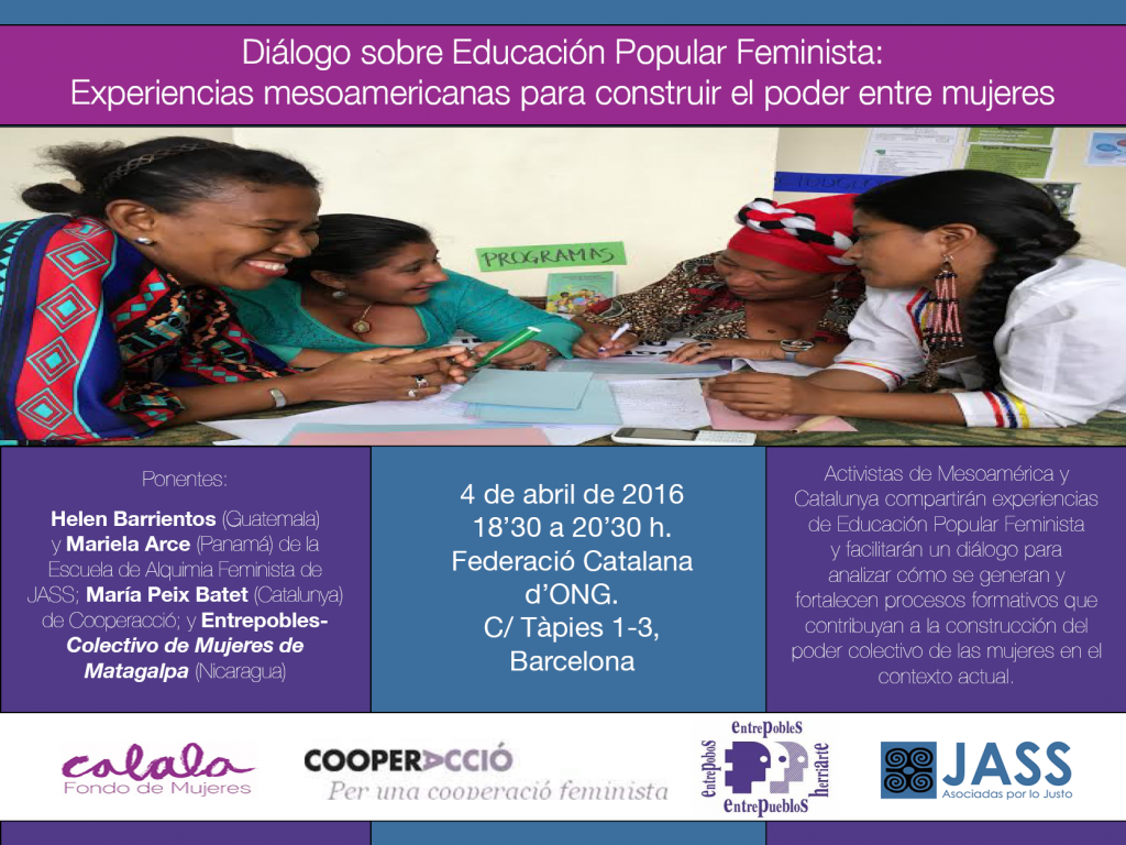 Diálogo sobre Educación Popular Feminista: